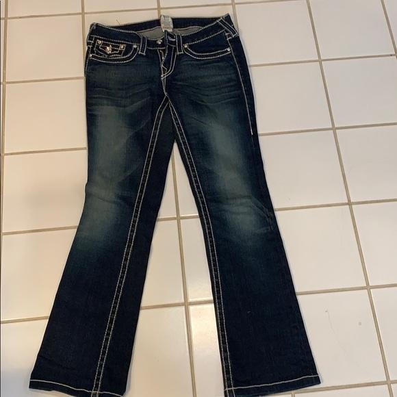 True Religion Denim - True Religion dark jeans with Rhinestones